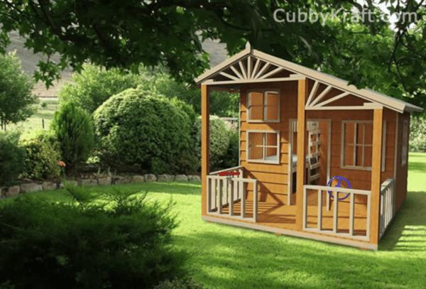 Alpine Lodge Cubby House