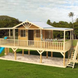 Queenslander cubby house