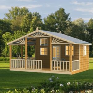Paddington Deluxe cubby house