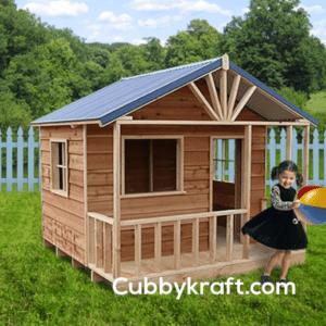 Snow Gum cubby house